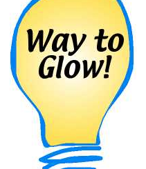 Way to Glow! lighbulb image