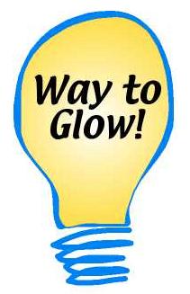 Way to Glow! lighbulb image